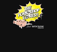 Pork Chop Express - Distressed Zesty Variant Womens Fitted T-Shirt