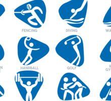 Olympics Icon Pictograms Set Sticker