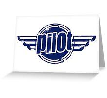 Pilot Wings Greeting Card
