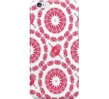 Ruby Mandala Tile iPhone Case/Skin