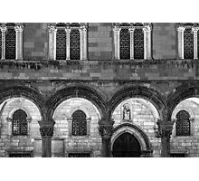 Dubrovnik Architecture Photographic Print