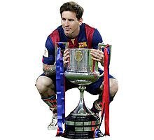 Lionel Messi - UCL Final 2015 Photographic Print