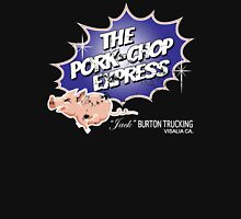 Pork Chop Express - Distressed Bluey Glow Variant Unisex T-Shirt