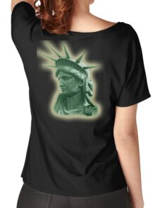 American, Statue of Liberty, USA, US, New York, Americana, America Women's Relaxed Fit T-Shirt