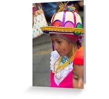 Cuenca Kids 798 Greeting Card