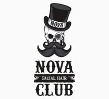Northern Virginia Facial Hair Club by DesignShinobi