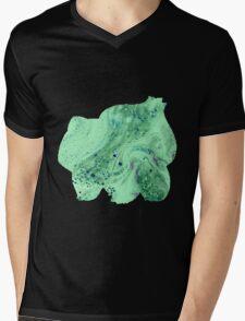 Bulbasaur Bubbles Mens V-Neck T-Shirt