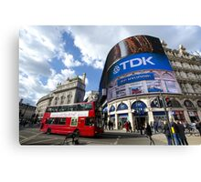 Piccadilly Circus in London Canvas Print