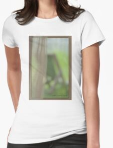 The View From Inside © Vicki Ferrari Womens Fitted T-Shirt