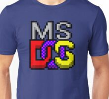MS-DOS WINDOWS95 ICON Unisex T-Shirt