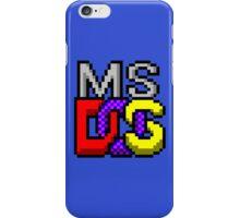 MS-DOS WINDOWS95 ICON iPhone Case/Skin