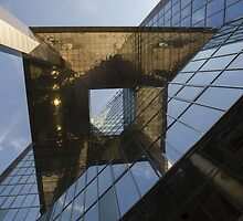 Abstract of modern high-rise building by avresa