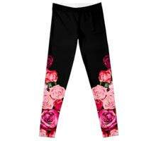 Watercolour Roses Leggings