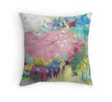 Mk abstract 3 Throw Pillow