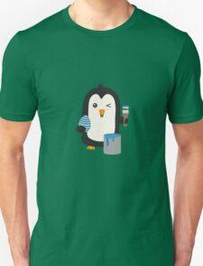 Penguin with egg   Unisex T-Shirt