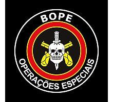 ELITE SQUAD MOVIE - BOPE - RIO DE JANEIRO Photographic Print