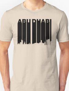 Retro Abu Dhabi Skyline Unisex T-Shirt