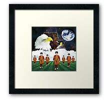 Beefeaters - Guardians of Interspecies Love Framed Print