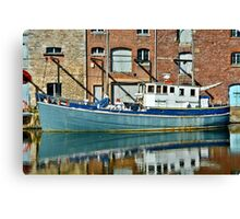 On Exeter Quay Canvas Print