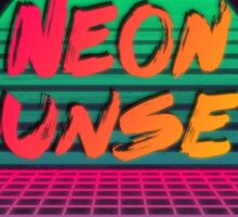Neon Sunset Redux Sticker