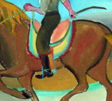 Gaucho jinete  7 por Diego Manuel Sticker