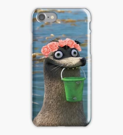 Gerald Finding Dory Flower Crown iPhone Case/Skin