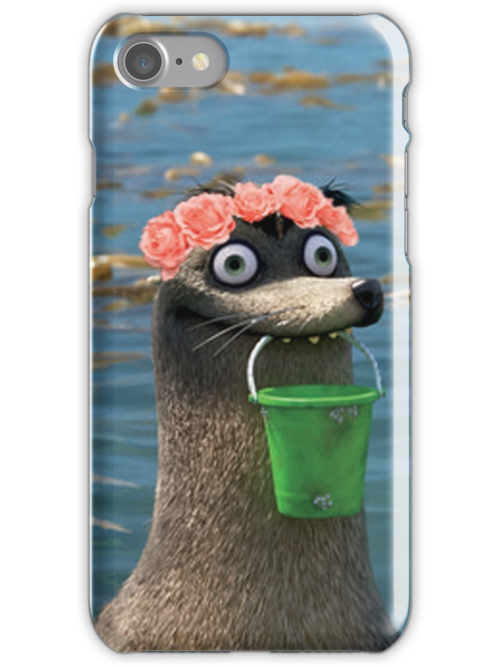Quot Gerald Finding Dory Flower Crown Quot Iphone Cases Amp Skins By