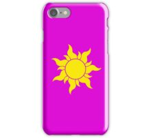 Tangled Sun Symbol iPhone Case/Skin