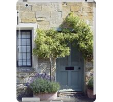 Typical Cotswolds house facade, UK iPad Case/Skin