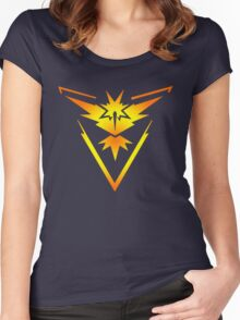 Team Instinct!! Women's Fitted Scoop T-Shirt