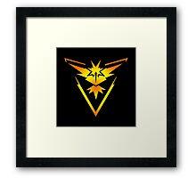 Team Instinct!! Framed Print