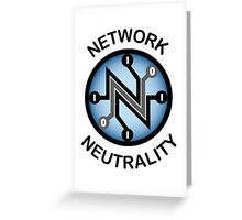 Network Neutrality Greeting Card