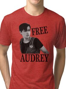 Scream - Free Audrey Tri-blend T-Shirt