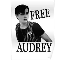 Scream - Free Audrey Poster