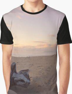 Rockaway Beach Golden Hour Graphic T-Shirt