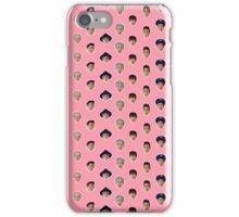 Block B pattern - pink. iPhone Case/Skin