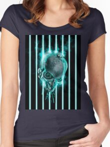 System Shutdown Women's Fitted Scoop T-Shirt