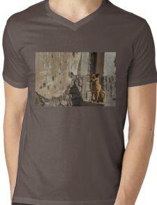 Waiting Mens V-Neck T-Shirt