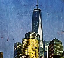The Freedom Tower - Artistic Version by Jamie Greene