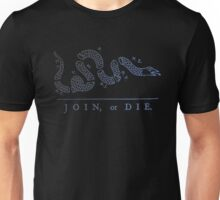 Join or die Unisex T-Shirt