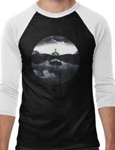 Landing on Zebes A Metroid Surrealism Men's Baseball ¾ T-Shirt