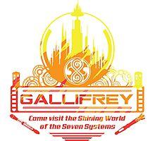 Gallifrey Photographic Print