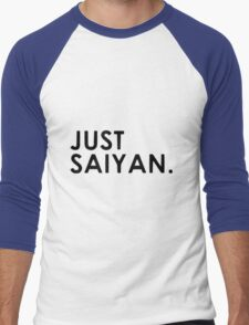 manga just saiyan Men's Baseball ¾ T-Shirt