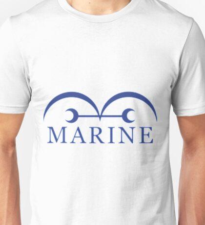 manga one piece marine Unisex T-Shirt