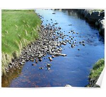 Babbling Brook - Isle of Lewis Poster