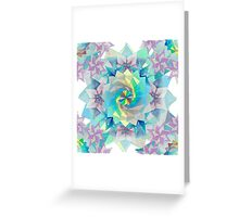 Origami Kaleidoscope Greeting Card
