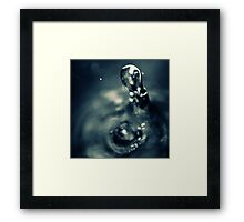 WATERDROP II Framed Print