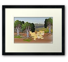 On the look Out for Mum (1554 Views) Framed Print