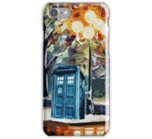 Tardis Painting iPhone Case/Skin