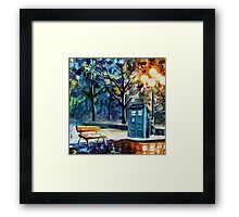Tardis Painting Framed Print